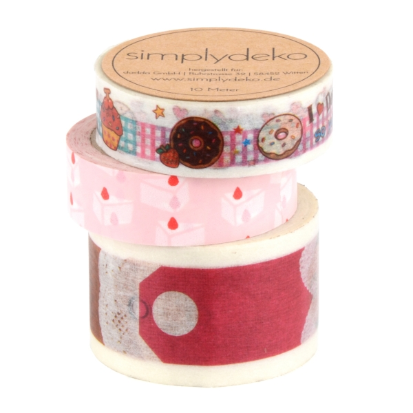 Masking Tape Washi-Tape Set Backen