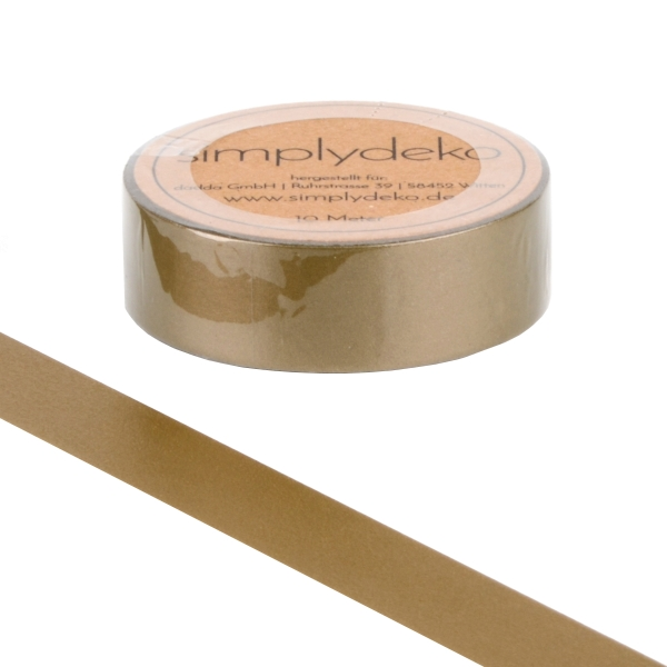 Masking Tape Washi-Tape Gold