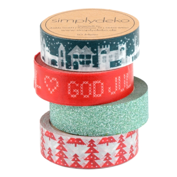 Masking Tape Washi-Tape Set God Jul