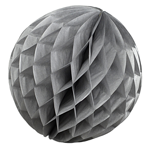 Wabenball Honeycomb-Lampion in Silber