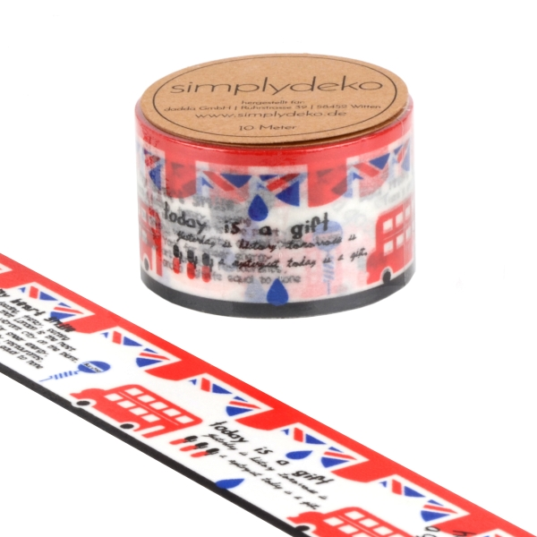 Masking Tape Washi-Tape London XXL