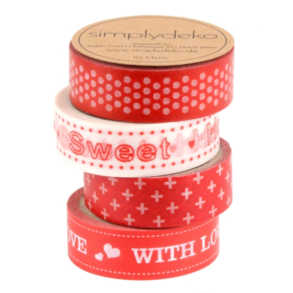 Masking Tape Washi-Tape Set Love and Home