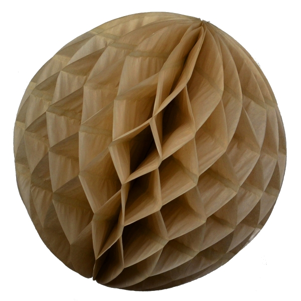Wabenball Honeycomb-Lampion Mokka