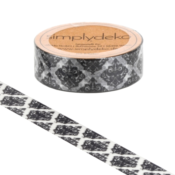 Masking Tape Washi-Tape Retro Band
