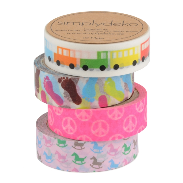 Masking Tape Washi-Tape Set Kids