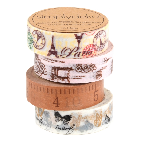 Masking Tape Washi-Tape Set Nostalgie