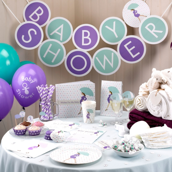 Wimpelkette Wimpel-Girlande zur Babyparty